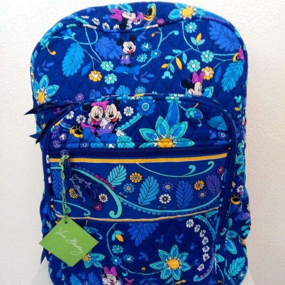 2ea6eba688d Mickey Disney campus backpack Vera Bradley